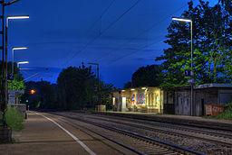 Bahnhof Sersheim