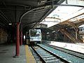 Baltimore Light Rail train Penn Station, June 2003.jpg