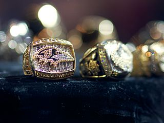 Championship ring North American prize for a sports championship