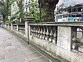 Balustrade to Forecourt of Numbers 35 to 37, Kensington Road, May 2018.jpg