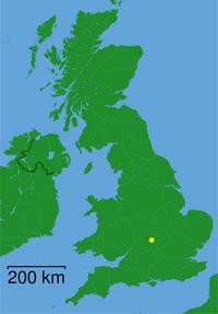 Banbury England Map.Banbury Simple English Wikipedia The Free Encyclopedia
