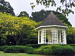 Music was played at this gazebo, known as the Bandstand, in the Singapore Botanic Gardens in the 1930s