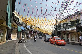Tanao Road Road in Phra Nakhon District, Bangkok