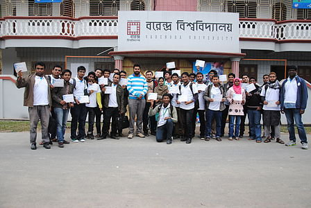 Bangla Wikipedia Workshop at Barendra University (105).jpg
