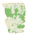 Banie Mazurskie (gmina) location map.png