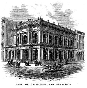 Bank of California - The Bank of California in 1875