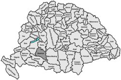 Location of Baranya