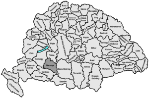 Baranya County (former) - Image: Baranya