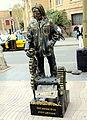 Barcelona street artist.JPG