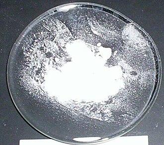 Barium chloride - Image: Barium chloride