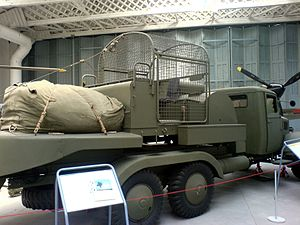 Barrage balloon - Balloons could be launched from specialised vehicles.
