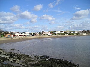 Looking across Whitmore Bay