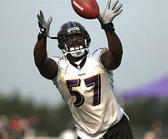 Bart Scott - Bart Scott as a member of the Ravens.