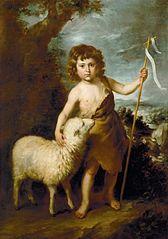 John the Baptist as a child