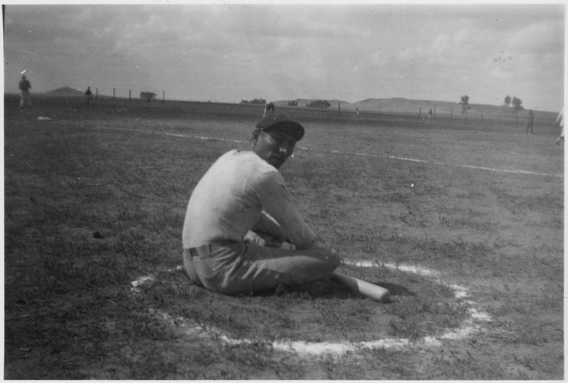 File:Baseball player in the batting circle - NARA - 285815.tif
