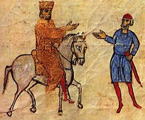 Macedonian dynasty - Basil I on horseback