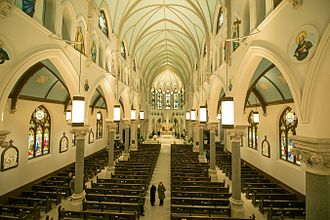 Guelph - Interior of the Basilica of Our Lady Immaculate after the renovation (2015)