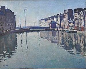 Le Bassin du Roy au Havre