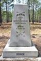 Battle of Monroe's Crossroads Battlefield Historical Marker side 1.jpg