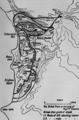 Battle of Sari Bair, showing the British attack, 6–8 August 1915.png