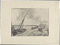 Beached Boats, print by James Ensor, 1888, Prints Department, Royal Library of Belgium, S. IV 84697.jpg