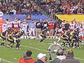 Bears punt at 2009 Poinsettia Bowl.JPG