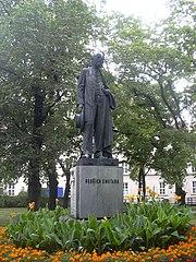 Statue of Bedřich Smetana in Prostějov