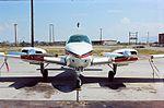 Beechcraft Baron (Lufthansa) at GYR (B).jpg