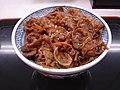 Beef yakinikudon by shibainu in Tokyo.jpg