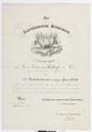 Befordran av Walther von Hallwyl till premiärlöjtnant - Hallwylska museet - 102522.tif