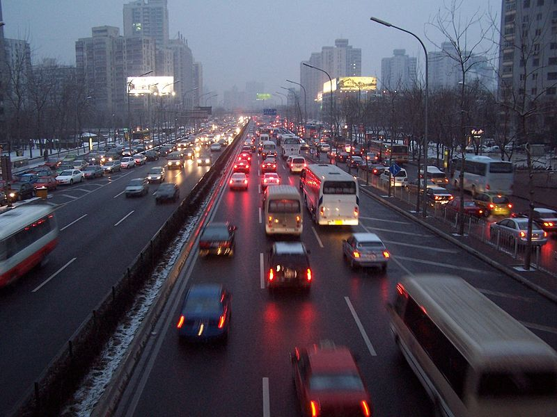 File:Beijing traffic jam.JPG