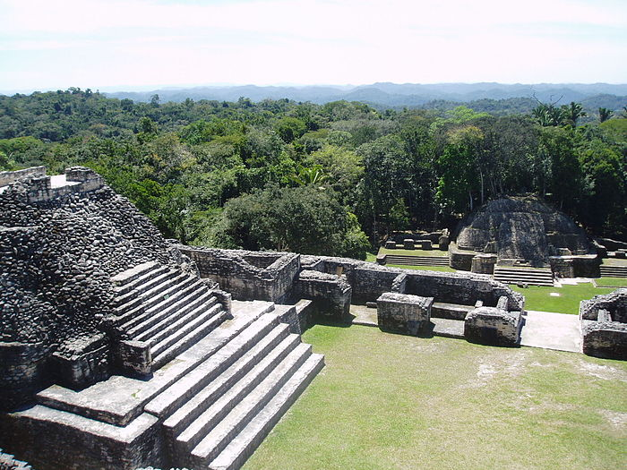 A photo of ancient ruins in Belize