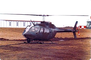 Canadian Air-Sea Transportable Brigade Group - The CH-136 Kiowa was used by CAST as a battlefield reconnaissance and liaison aircraft.