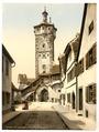 Bell tower (klingen Tor), Rothenburg (i.e. ob der Tauber), Bavaria, Germany-LCCN2002696181.tif