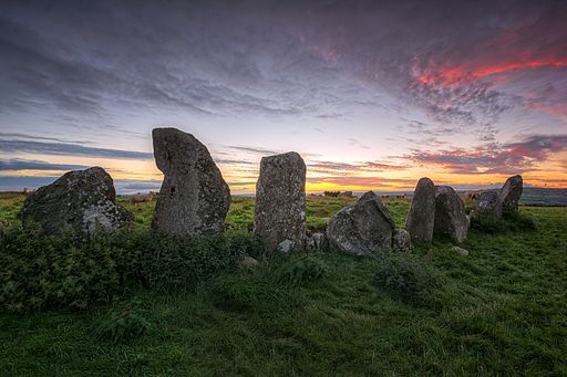 Beltany Ancient Standing Stone Circle – Donegal