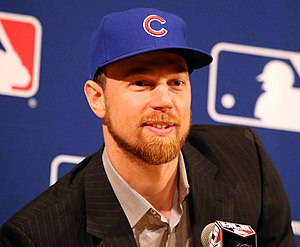 Ben Zobrist - Ben Zobrist with the Chicago Cubs in 2016