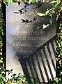 Benedicte Rosine Marie Abrahamson født Rothes gravsten.jpg
