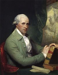 As painted by Gilbert Stuart, 1783-84