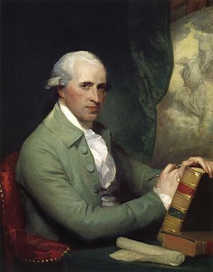 Benjamin West - As painted by Gilbert Stuart in 1783–84