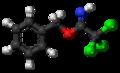 Benzyl-2,2,2-trichloroacetimidate molecule ball.png