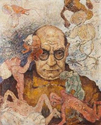 Frits Van den Berghe - Self-portrait (c.1933)