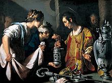 Bernardo Strozzi, San Lorenzo distribuisce le ricchezze della Chiesa
