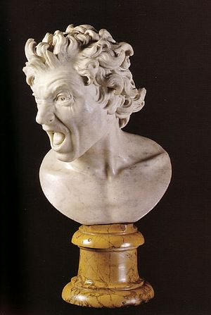 Damned Soul (Bernini)