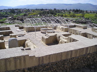 Beit She'an - BetShe'an – an ancient house of Egyptian governor