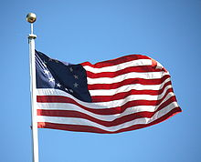 dc88c9a7b938 Betsy Ross flag - Wikipedia