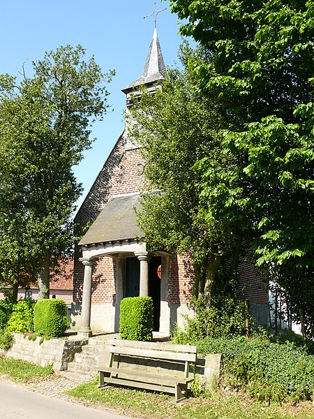 St-Martin's Chapel in Bever, dating back to 1760.
