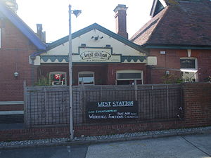 Bexhill West railway station - Image: Bexhill West Station 3