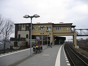 Berlin-Tempelhof station - S-Bahn station