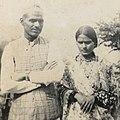 Bidhyanath Pokhrel and Girija Kumari Pokhrel 1954 (31462221447).jpg