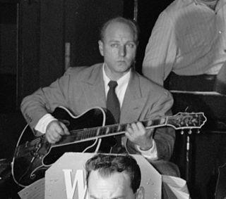 Billy Bauer American jazz guitarist
